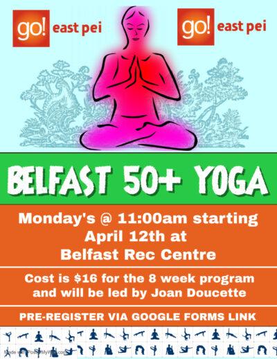 Belfast Yoga 2021