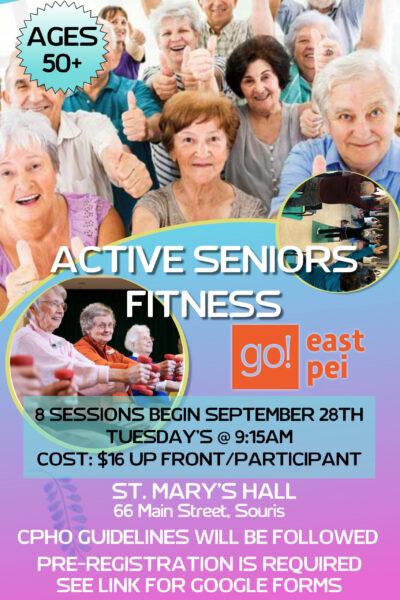 Souris Striders Active Seniors