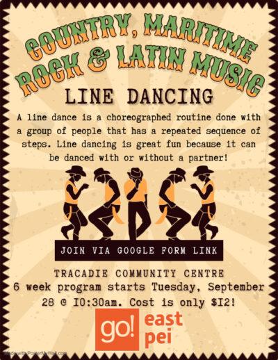 Tracadie Line Dancing